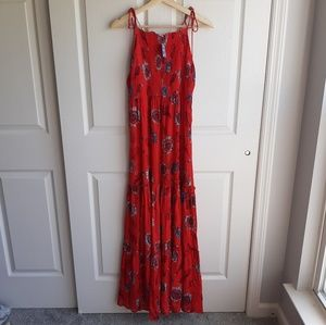 NWT Free People Red Garden Party Dress Size Medium